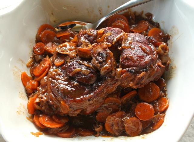 Jarret de veau caram lis fa on ducasse les filles table - Comment cuisiner le jarret de veau ...