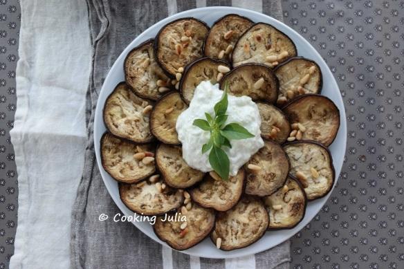 xSalade d'aubergines au tzatziki 1