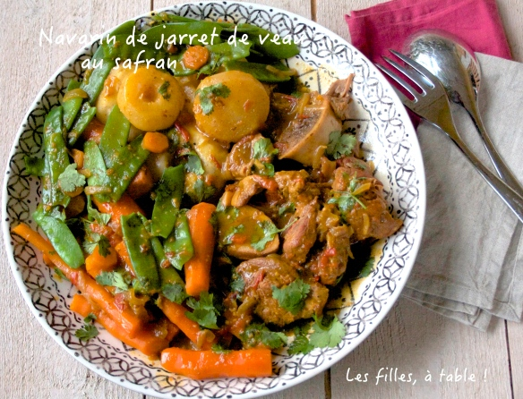 Navarin de jarret de veau au safran blogs de cuisine - Comment cuisiner le jarret de veau ...