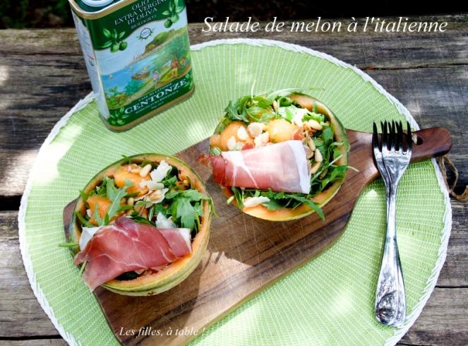 Salade De Melon A L Italienne Recette Autour D Un Ingredient 41