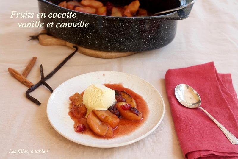 cocotte, warmcook, pommes, poires, les filles à table