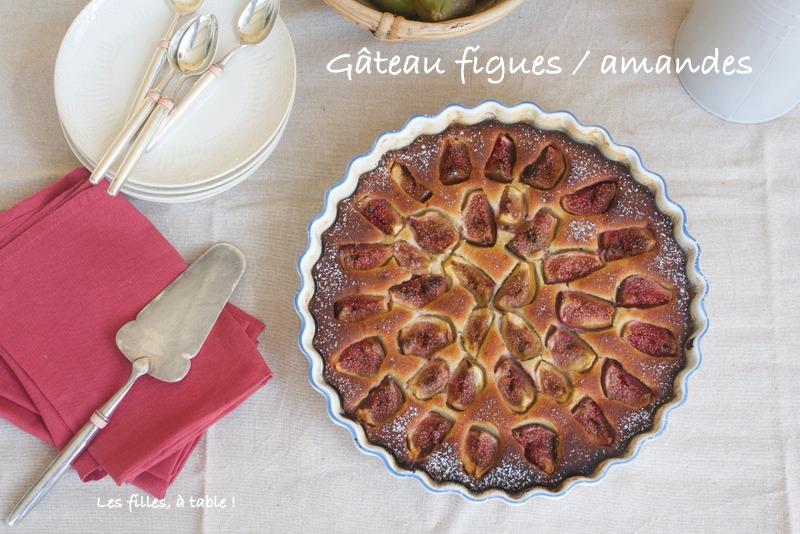 figues, gâteau, Ottolenghi, les filles à table