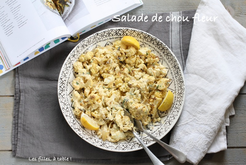 Salade chou-fleur et oeufs - Yotam Ottolenghi