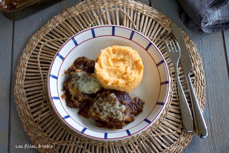 Joues de porc confites au cidre et brebis basque