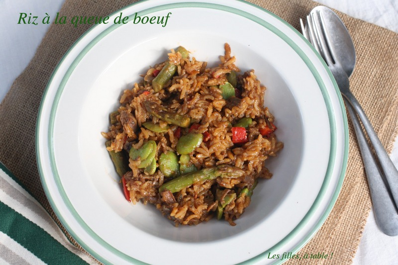 riz à la queue de boeuf