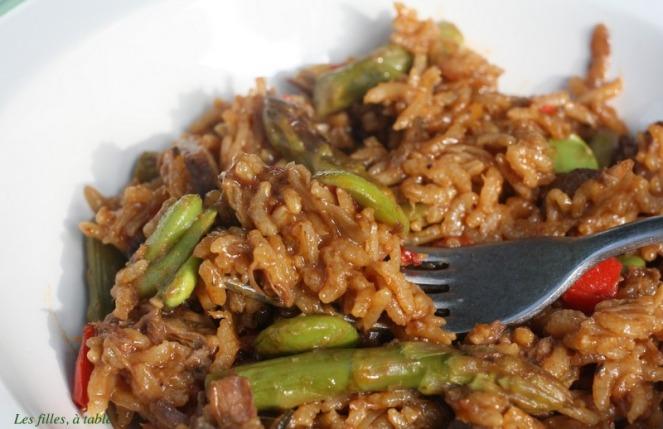 riz à la queue de boeuf
