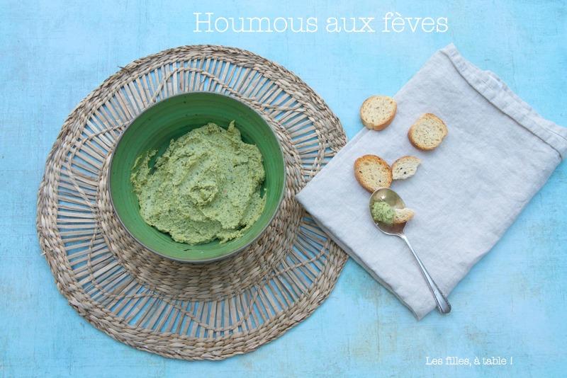 Houmous aux fèves