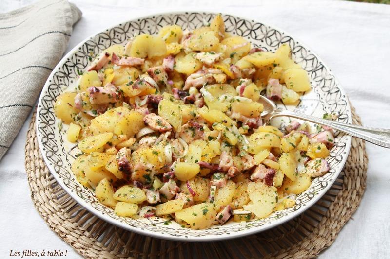 Salade de calamars aux pommes de terre