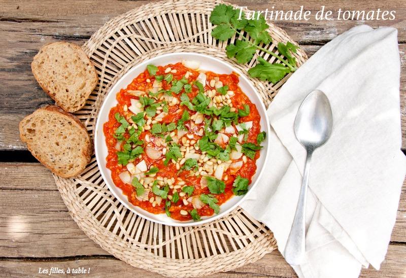 Tartinade de tomates