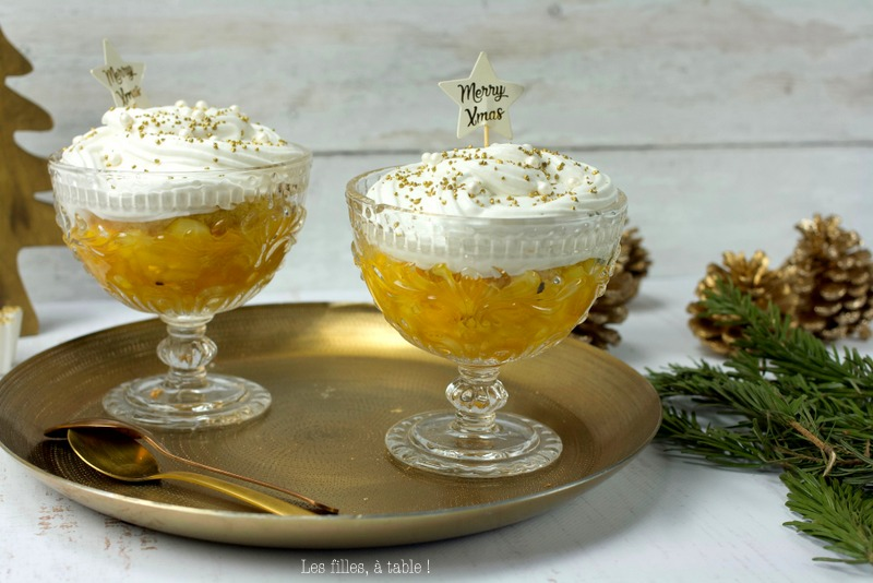Coupe ananas mangue coco