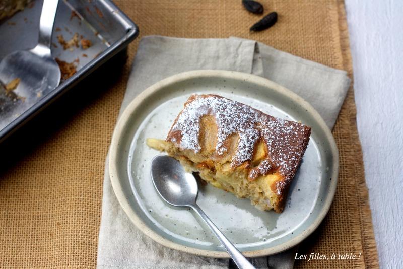 Gâteau moelleux aux pommes et aux poires